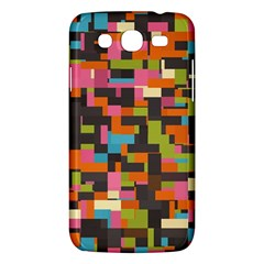 Colorful Pixels Samsung Galaxy Mega 5 8 I9152 Hardshell Case