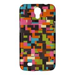 Colorful Pixels Samsung Galaxy Mega 6 3  I9200 Hardshell Case
