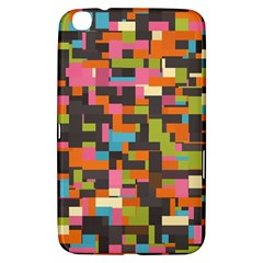 Colorful Pixels Samsung Galaxy Tab 3 (8 ) T3100 Hardshell Case  by LalyLauraFLM