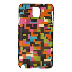 Colorful Pixels Samsung Galaxy Note 3 N9005 Hardshell Case by LalyLauraFLM