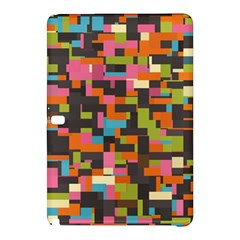 Colorful Pixels Samsung Galaxy Tab Pro 12 2 Hardshell Case by LalyLauraFLM