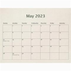 Wall Calendar 11 X 8 5 By Deca   Wall Calendar 11  X 8 5  (12 Months)   Gkfudopmcrth   Www Artscow Com May 2015