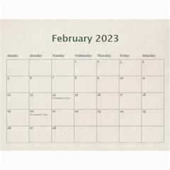 Wall Calendar 11 X 8 5 By Deca   Wall Calendar 11  X 8 5  (12 Months)   Gkfudopmcrth   Www Artscow Com Feb 2015