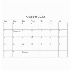 Wall Calendar 8 5  X 6  By Deca   Wall Calendar 8 5  X 6    Xok39fex089p   Www Artscow Com Oct 2015