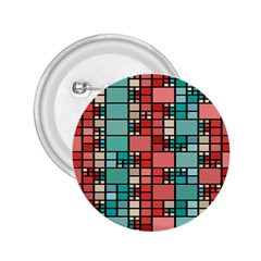 Red And Green Squares 2 25  Button
