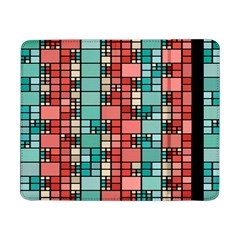 Red And Green Squares Samsung Galaxy Tab Pro 8 4  Flip Case