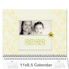 Wall Calendar 11 X 8 5 By Deca   Wall Calendar 11  X 8 5  (12 Months)   Ofqf2u62kno9   Www Artscow Com Cover