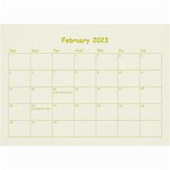 Wall Calendar 8,5 X 6 By Deca   Wall Calendar 8 5  X 6    Z6cgt0sun0a9   Www Artscow Com Feb 2015