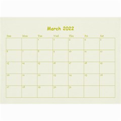 Wall Calendar 8,5 X 6 By Deca   Wall Calendar 8 5  X 6    Z6cgt0sun0a9   Www Artscow Com Mar 2015