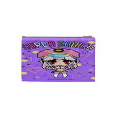 Super Sonico Coin Purse By Ichigo Kuriimu Ryusei   Cosmetic Bag (small)   L44odfld1u1e   Www Artscow Com Back
