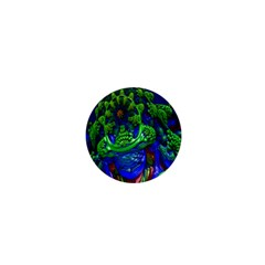 Abstract 1x 1  Mini Button by icarusismartdesigns