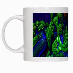 Abstract 1x White Coffee Mug by icarusismartdesigns