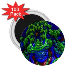 Abstract 1x 2 25  Button Magnet (100 Pack) by icarusismartdesigns