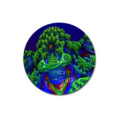 Abstract 1x Magnet 3  (round) by icarusismartdesigns