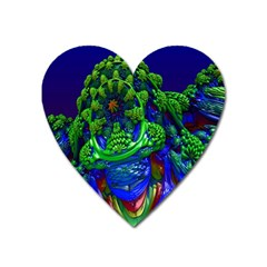 Abstract 1x Magnet (heart) by icarusismartdesigns