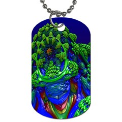 Abstract 1x Dog Tag (two Sided)  by icarusismartdesigns