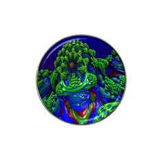 Abstract 1x Golf Ball Marker (for Hat Clip) by icarusismartdesigns