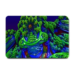 Abstract 1x Small Door Mat by icarusismartdesigns