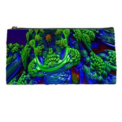 Abstract 1x Pencil Case by icarusismartdesigns