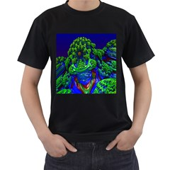 Abstract 1x Men s T Shirt (black) by icarusismartdesigns