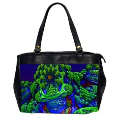 Abstract 1x Oversize Office Handbag (two Sides) by icarusismartdesigns