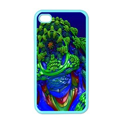 Abstract 1x Apple Iphone 4 Case (color) by icarusismartdesigns
