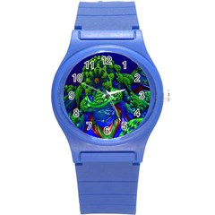 Abstract 1x Plastic Sport Watch (small) by icarusismartdesigns