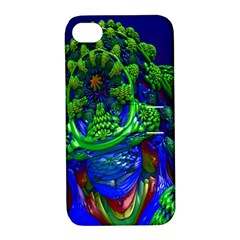 Abstract 1x Apple Iphone 4/4s Hardshell Case With Stand by icarusismartdesigns