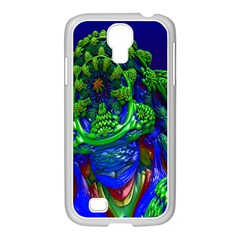 Abstract 1x Samsung Galaxy S4 I9500/ I9505 Case (white) by icarusismartdesigns