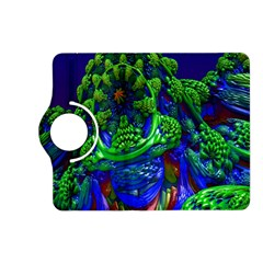 Abstract 1x Kindle Fire Hd (2013) Flip 360 Case by icarusismartdesigns
