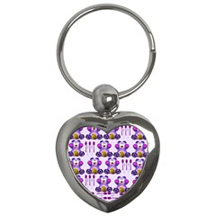 Fms Honey Bear With Spoons Key Chain (Heart) by FunWithFibro