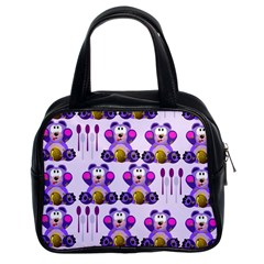 Fms Honey Bear With Spoons Classic Handbag (two Sides) by FunWithFibro