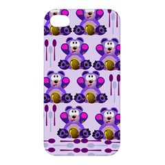 Fms Honey Bear With Spoons Apple Iphone 4/4s Hardshell Case