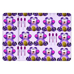Fms Honey Bear With Spoons Samsung Galaxy Tab 8 9  P7300 Flip Case by FunWithFibro
