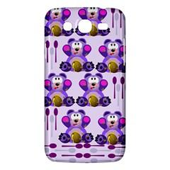 Fms Honey Bear With Spoons Samsung Galaxy Mega 5 8 I9152 Hardshell Case  by FunWithFibro