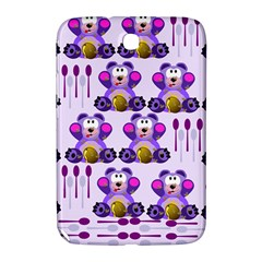 Fms Honey Bear With Spoons Samsung Galaxy Note 8 0 N5100 Hardshell Case  by FunWithFibro