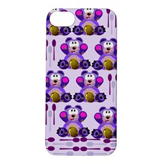 Fms Honey Bear With Spoons Apple Iphone 5s Hardshell Case by FunWithFibro