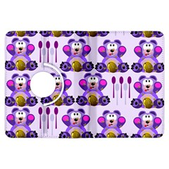 Fms Honey Bear With Spoons Kindle Fire Hdx Flip 360 Case by FunWithFibro