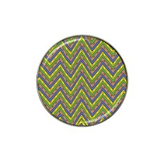 Zig Zag Pattern Hat Clip Ball Marker (10 Pack) by LalyLauraFLM