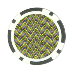 Zig Zag Pattern Poker Chip Card Guard (10 Pack)