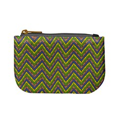 Zig Zag Pattern Mini Coin Purse