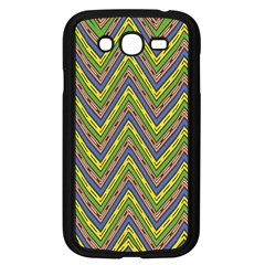 Zig Zag Pattern Samsung Galaxy Grand Duos I9082 Case (black)