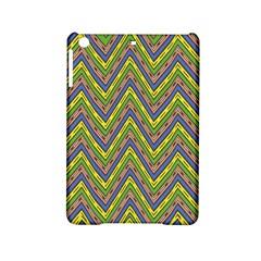 Zig zag pattern Apple iPad Mini 2 Hardshell Case by LalyLauraFLM