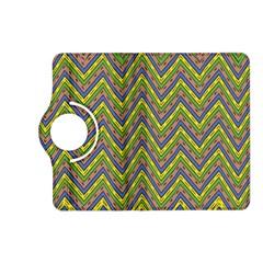 Zig Zag Pattern Kindle Fire Hd (2013) Flip 360 Case by LalyLauraFLM