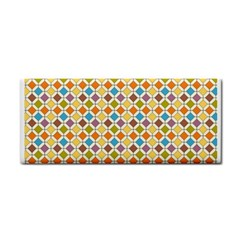 Colorful Rhombus Pattern Hand Towel by LalyLauraFLM