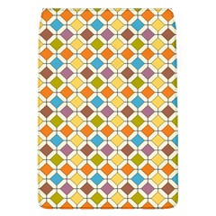Colorful Rhombus Pattern Removable Flap Cover (large) by LalyLauraFLM
