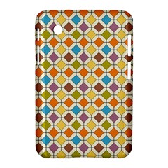 Colorful Rhombus Pattern Samsung Galaxy Tab 2 (7 ) P3100 Hardshell Case  by LalyLauraFLM
