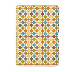 Colorful Rhombus Pattern Samsung Galaxy Tab 2 (10 1 ) P5100 Hardshell Case  by LalyLauraFLM