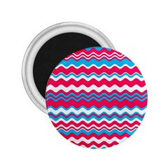 Waves Pattern 2 25  Magnet by LalyLauraFLM