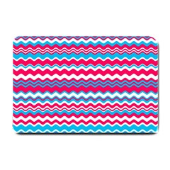Waves Pattern Small Doormat by LalyLauraFLM